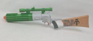 Star Wars Boba Fett mandalorian Electronic Blaster Gun Hasbro Fully Working