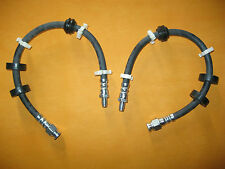 LANCIA DEDRA 1.9TD,2.0 ie,2.0 ie Turbo(90-94)NEW PAIR FRONT BRAKE HOSES - VBH682