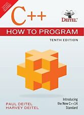 New: C++ How to Program by Harvey Deitel  10 ED