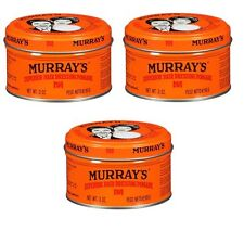 3 x Murray's Superior Hair Dressing Pomade 85g