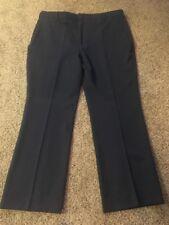 Red Kap Navy Polyester Flat Front Dress Pants Sz 44 Inseam 32 Hardly Worn