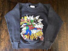 Vintage 1991 Marvel Comic Spider-Man Power Rangers Sweatshirt Kids Size M(5-6)