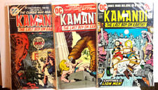 #6,7,24 Kamandi 1970s Dc Comic Book Set of 3- G to Vg (Cbset-265)