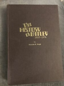 The History Of Batley 1800-1974 Malcolm H Haigh Local History Book Signed Copy