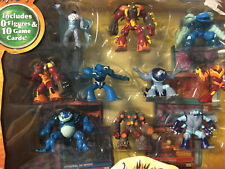 Gormiti The Invincible Lords of nature Series 2 10 Figures & 10 Game Cards
