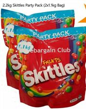 2X Skittles Candy Fruits Original Giant Party Pack (2x 1.1kg Bag)