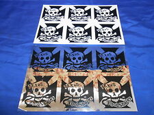 Texas Poolsharks Skateboard Team 2 Decal Sheets Vintage 1980s-90s? 12 Stickers
