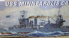 1/700 USS Minneapolis (CA-36) New Orleans Class Heavy Cruiser - Trumpeter #05744