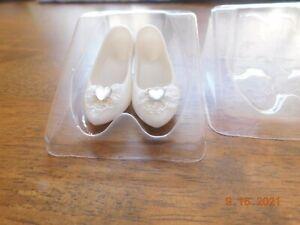 Franklin Mint Shoes For The Princess Vinyl Diana Doll Wedding Ensemble