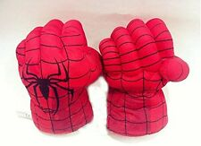 Spider Man Smash Hands Soft Toy Doll Boxing Gloves Big One Pair Funny Kids' Cos