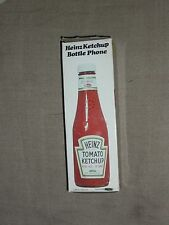 Heinz 57 Ketchup Bottle Phone in Box New with notepad