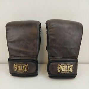 Everlast Boxing Neoprene Heavy Bag Gloves Regular Boxer Practice Sports Fitness