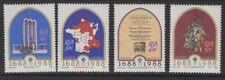 Sudáfrica SG637/40 1988 hugonotes franceses en el cabo estampillada sin montar o nunca montada