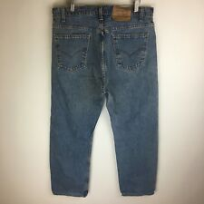 Vintage USA Levis Jeans 505 Orange Tab Regular Fit Tag Size: 38x30 (36x29) #3016