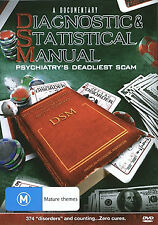 Diagnostic & Statistical Manual Psychiatry's Deadliest Scam DVD)-Free postage