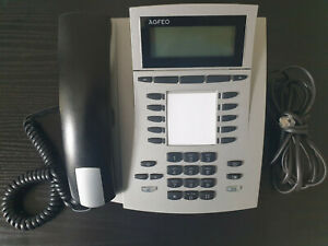 AGFEO ST40 UP0 Systemtelefon, silber