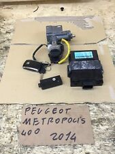 PEUGEOT METROPOLIS 400 2011/2016 Kit Blocchetto Accensione Chiavi
