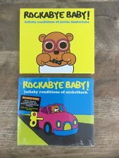 Rockabye Baby Lullaby Renditions Of Justin Timberlake & Nickleback Lot Of 2 CDs