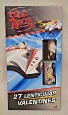 27 Valentines 3D Change Speed Racer Lenticular Age 3+ Valentine Cards 9 Designs