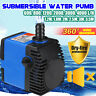600-4000 LPH Aquarium Pump Water Submersible Fish Tank Fountain Pond Waterfall