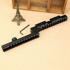 QD 20mm Picatinny Rifle Z Type Rail Rifle Scope Mount Base Bi-Level Carry Handle