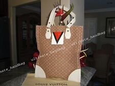 AUTH LOUIS VUITTON MINI LIN TANGER SAC PLAT BRAND NEW