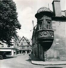 DIJON c. 1950 - Maison à Tourelle Angle rue Longepierre Côte d'Or - Div 5416