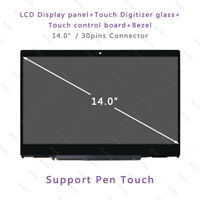"14"" HP Pavilion X360 14-CD0002NL LCD Display Touch Digitizer Screen Replacement"