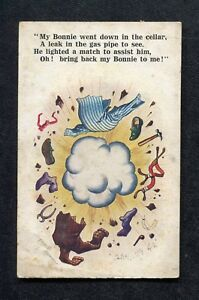 Posted 1926 McGill: Gas Leak Explosion: Bring Back by Bonnie to Me!