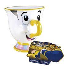 Disney Tassilo Chip Mug Tasse Becher Die Schöne und das Biest 300ml DHL PaketNEU