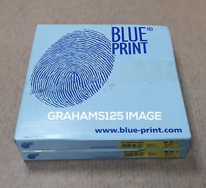 BRAKE DISCS X2 256mm FRONT FITS FORD RANGER MAZDA BT-50 BLUE PRINT ADM54385