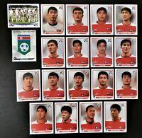 Panini WM 2010 Nordkorea Korea DPR Mannschaft Team Complete Set World Cup WC 10