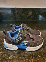 SKECHERS Kids Boys Blue  Sneakers Athletic Sport Shoes size 12