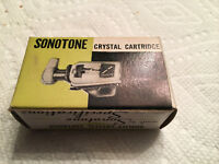 SONOTONE STEREO CRYSTAL CARTRIDGE Flip over 78 rpm NOS