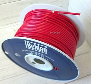 Belden 8866 18 AWG Copper 40kV Low Temp High Voltage Lead Wire - Per 10 FT