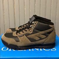 NEW Hi-Tec Men's Light Hiking Trail Boot Leather Smokey Brown Crestone PICK SIZE
