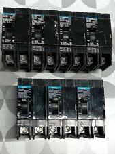 SIEMENS (BQD215) 2P 15A 480Y/277 V~ 125/250 VDC Type BQD Bolt-On Circuit Breaker