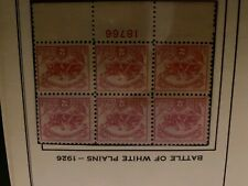 Battle of white plains 1926 stamps