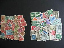 Canada 100 officials half overprints,half perfins mixture(duplicates,mixed cond)