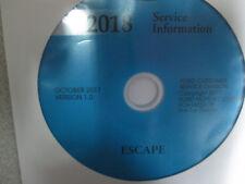 2018 Ford ESCAPE Service Shop Repair Workshop Manual CD New