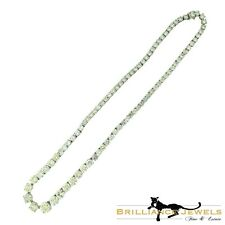 Cartier Round Brilliant Cut Variation Diamond Tennis Platinum Necklace