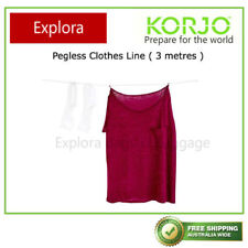 One of New Korjo 3 Meter Travel Camping Pegless Clothes Line, No Peg Rope
