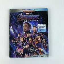 Avengers: Endgame (Blu-ray, 2019) With Slipcover No Code