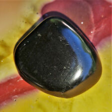 Echter Shungit großer Trommelstein Schungit Karelien Edelsteine Mineralien Nr 2