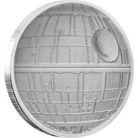 2020 Niue Star Wars Death Star 1 oz .999 Silver $2 Coin - 5,000 Minted IN STOCK!