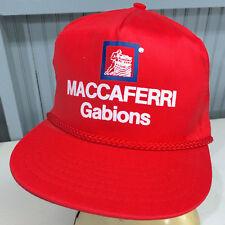 Maccaferri Gabions Snapback VTG Baseball Cap Hat