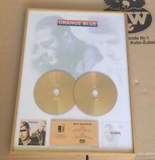 Orange Blue Gold Award goldene Schallplatte She´s got that light - In love with