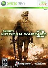 Call of Duty: Modern Warfare 2 (Microsoft Xbox 360, 2009) COMPLETE