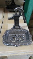 Cast Iron Antique Water Pump Soap Dish
