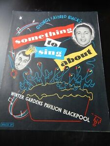 1950s Programme Winter Gardens  Blackpool Morecambe & Wise